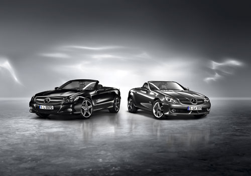 Mercedes-Benz SL Night Edition и SLK Grand Edition